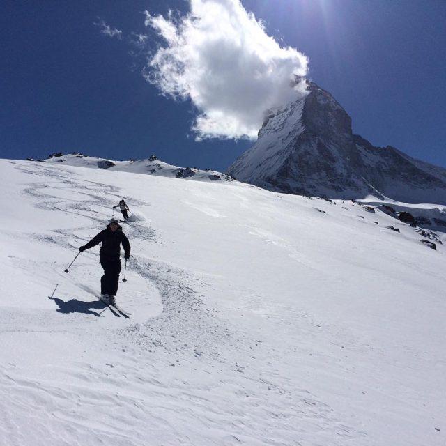 Ski de dbut de soire